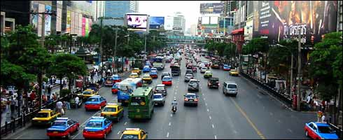 Bankgok : une artère importante