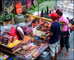 Marchés thais : artisanat