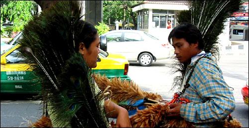 Bangkok : marchand de magazines