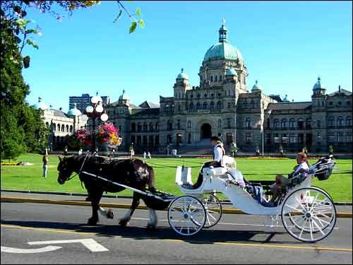 parlement sur l'île de Victoria