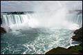 Olivier aux chutes du Niagara