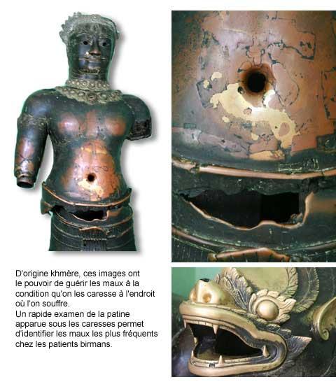 statues khmères